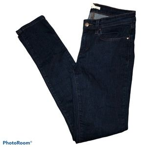 Eileen Fisher dark wash skinny jeans Size 4